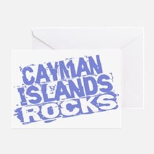 Cayman Islands Rocks Greeting Card