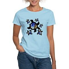 Earthly Turtles Women's Light T-Shirt