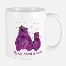 Purple Love Bears Mug