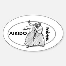 Aikido Oval Decal