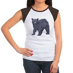 Bear Women's Cap Sleeve T-Shirt
