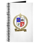 CARRIERE Family Crest Journal