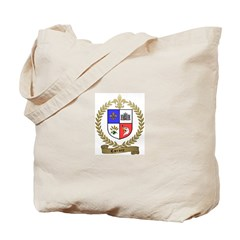 CARRIERE Family Crest Tote Bag
