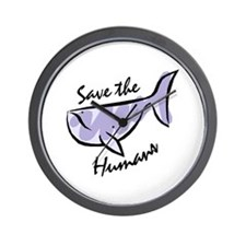 Save the Humans<br> Wall Clock
