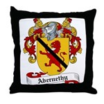 Abernethy Family Crest Throw Pillow