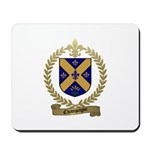 CHAMPAGNE Family Crest Mousepad