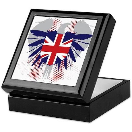 UK Winged Keepsake Box