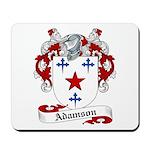 Adamson Family Crest Mousepad