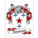 Adamson Family Crest Small Poster