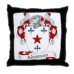 Adamson Family Crest Throw Pillow