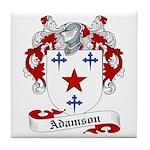 Adamson Family Crest Tile Coaster