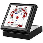 Adamson Family Crest Keepsake Box