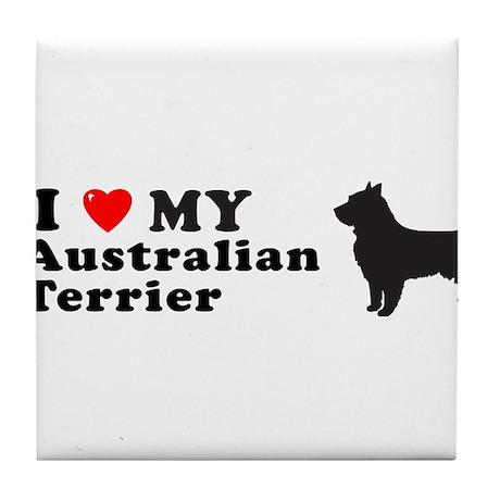 AUSTRALIAN TERRIER Tile Coaster