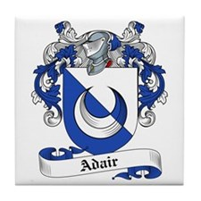 Adair Family Crest Tile Coaster