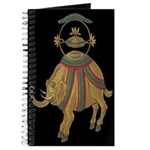 Decorative Asian Elephant 2 Journal