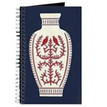 Asian Vase (Blue) Journal