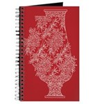 Asian Vase (Red) Journal