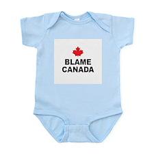 BLAME CANADA Infant Creeper