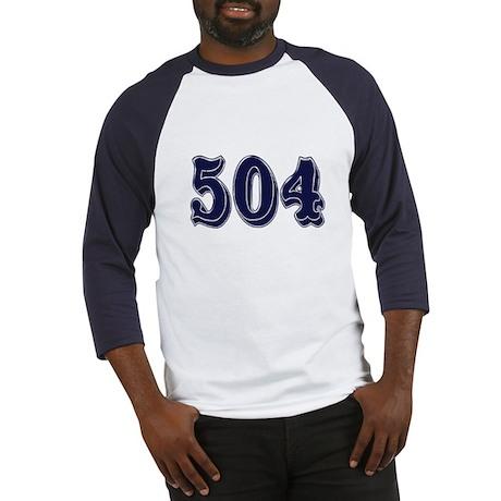 504 Baseball Jersey