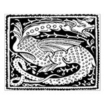 Chinese Luck Dragon Unframed Print