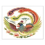 Chinese Luck Rooster Unframed Print