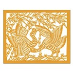 Wild Birds and Bamboo Unframed Print