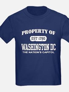 Property of Washington DC T
