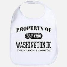 Property of Washington DC Bib