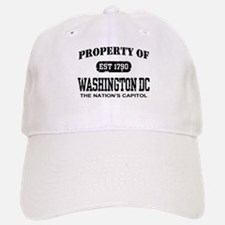 Property of Washington DC Baseball Baseball Cap
