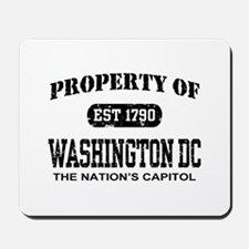 Property of Washington DC Mousepad