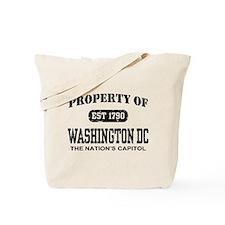 Property of Washington DC Tote Bag