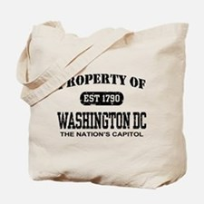 Property of Washington DC Tote Bag