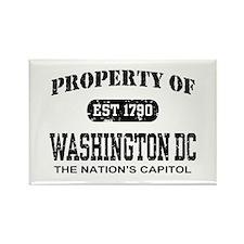 Property of Washington DC Rectangle Magnet
