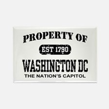 Property of Washington DC Rectangle Magnet