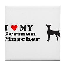 GERMAN PINSCHER Tile Coaster