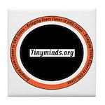 Tm.org Circle Tile Coaster