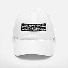 Bible verse John 14:6 Baseball Baseball Cap