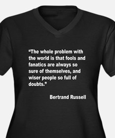 Russell Fools Fanatics Quote (Front) Women's Plus