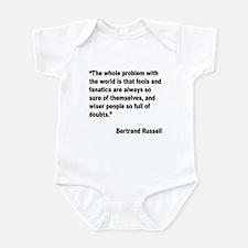 Russell Fools Fanatics Quote Infant Bodysuit