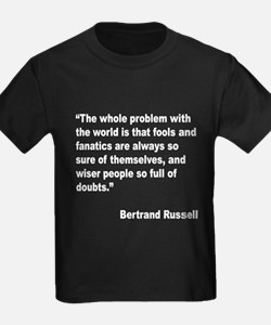Russell Fools Fanatics Quote (Front) T