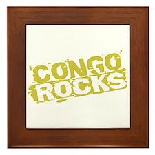 Congo Rocks Framed Tile
