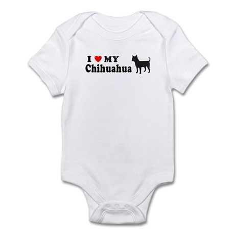 CHIHUAHUA-SIL Infant Bodysuit