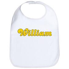 Retro William (Gold) Bib