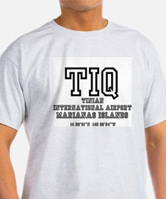 AIRPORT CODES - TIQ - TINIAN, MARIANAS ISLANDS T-S