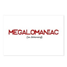 Megalomaniac Postcards (Package of 8)