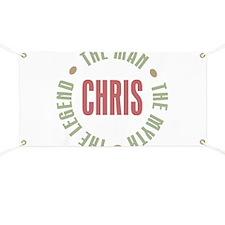 Chris Man Myth Legend Banner