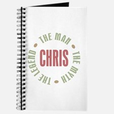 Chris Man Myth Legend Journal