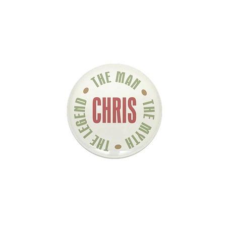 Chris Man Myth Legend Mini Button