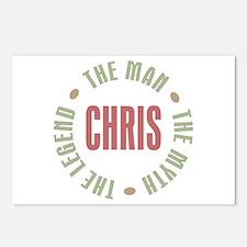 Chris Man Myth Legend Postcards (Package of 8)