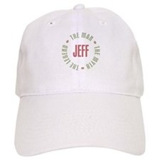 Jeff Man Myth Legend Baseball Cap